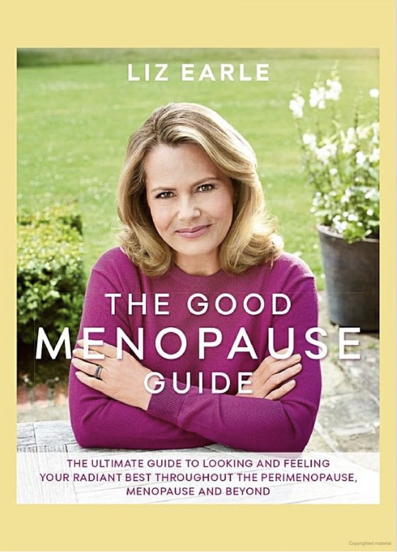 Olivier Amar press The Good Menopause Guide by Liz Earle - cosmetic surgeon London